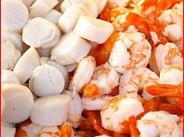 Seafood Fettuccine Recipe