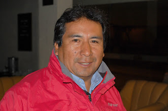 Photo: Before we go any further, this is our guide Edgar Chucya. He loves sharing his native Quechua culture and is really good at taking care of every little detail. Can't recommend him enough.  He likes small groups (there were only 7 of us) and his prices are great. I've never used a guide, but I wouldn't do it any other way now. Email: kumaru@latinmail.com; website: http://kumaruq.com/