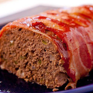 Bacon-Wrapped Meatloaf.