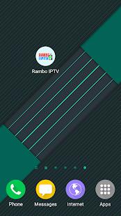 RAMBO IPTV - náhled