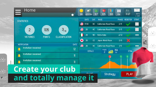 Live Cycling Manager 0.991 screenshots 1