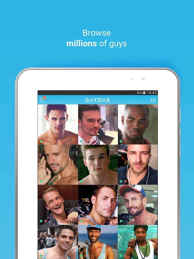 Gaydar - Gay & same sex dating - screenshot