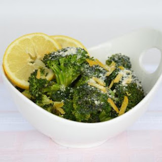 PARMESAN HERB-ROASTED BROCCOLI
