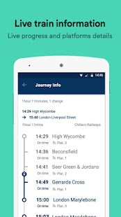 Trainline – times & tickets- screenshot thumbnail