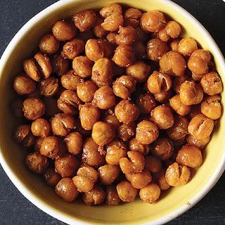 Roasted Cinnamon-Sugar Chickpeas