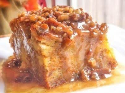 Pumpkin Praline Bread Pudding Recipe
