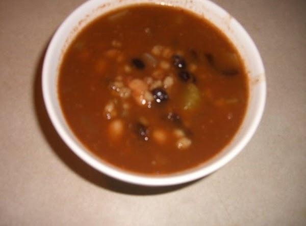 Mandy's Ultimate Vegan Bean & Barley Soup Recipe