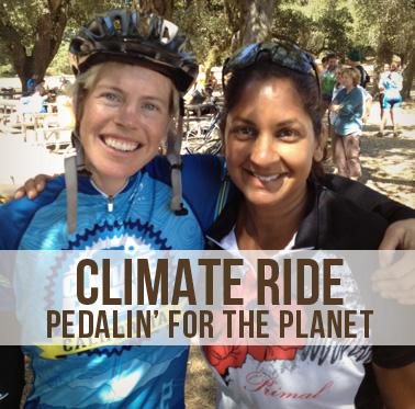 Caeli Quinn & Shamini Dhana on the 2014 Climate Ride as Ambassadors
