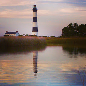 Bodie lighthouse by Bryan Gruber - Buildings & Architecture Public & Historical ( lighthouse, bodie, north carolina )