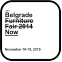 Belgrade furniture fair icon