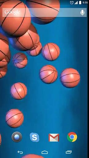 Basketball Ball Live Wallpaper