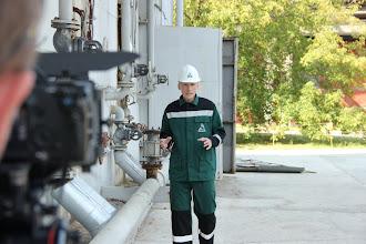 """Photo: """"Сибур-Нефтехим"""", учебный фильм для сотрудников компании, роль - ведущий, эксперт, (г.Дзержинск, 2011 г.)"""