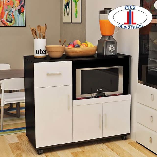 Tủ bếp nhỏ gọn di động
