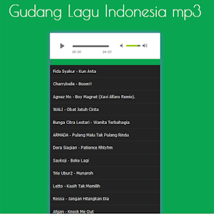 Gudang Lagu Indonesia screenshot 1