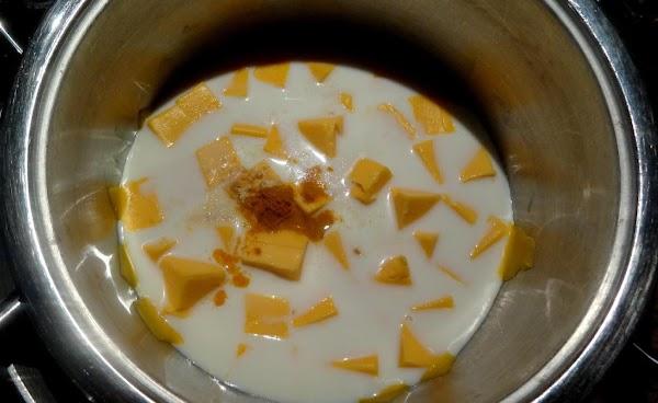 Add the seasonings: 1 teaspoon salt, 1/4 teaspoon ground white pepper, 1/4 teaspoon ground...