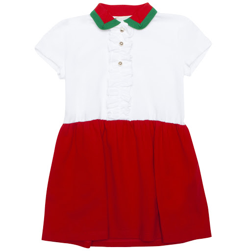 Primary image of Gucci Girls Cotton Dress