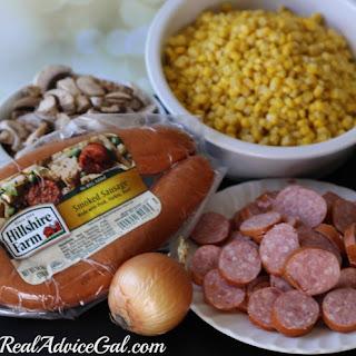 Smoked Sausage Corn Chowder