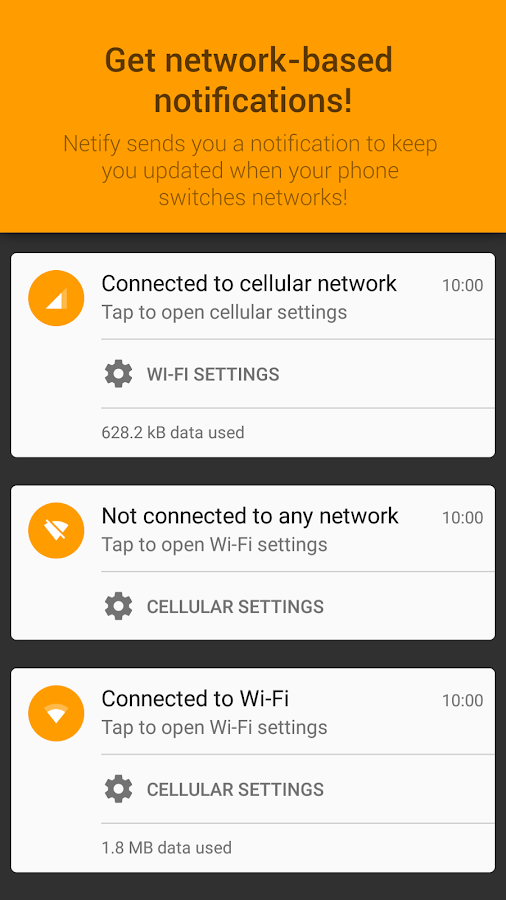 Netify - Network Notifications- screenshot