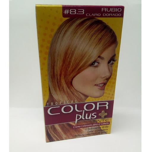 Tinte Color Plus Kit 8.3 Rubio Claro Dorado