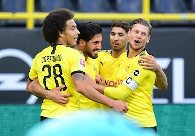 Bundesliga : Le Borussia Dortmund fait le minimum syndical mais consolide sa 2ème place au classement