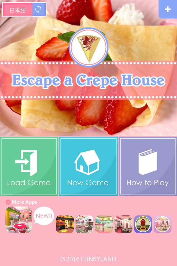 Escape a Crepe House- screenshot