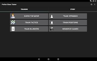 Screenshot of Perfect Chess Trainer