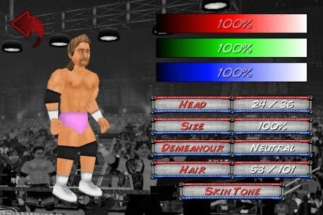 Wrestling Revolution 2.040 APK with Mod + Data 2