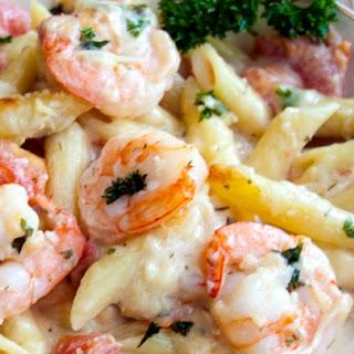 Shrimp Garlic Pasta Bake Recipes.
