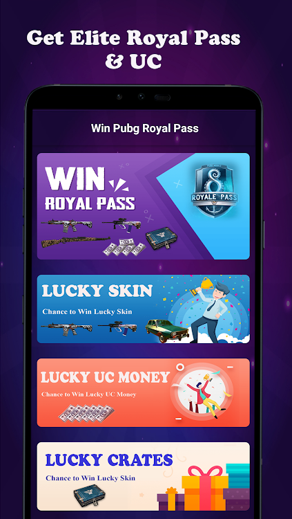 Win Royal Pass & UC Money for Pubg – (Android Apps) — AppAgg