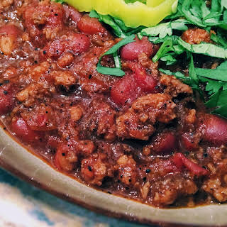 Smoked Sirloin Chili.