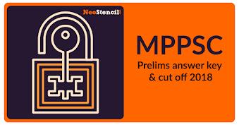 MPPSC Answer Key 2020 - For Set A, B, C, D