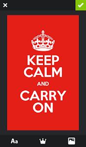 Keep Calm Generator v2.5