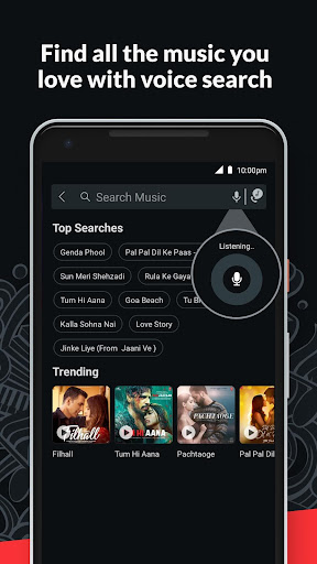 Wynk Music- New MP3 Hindi Songs Download HelloTune 3.9.1.0 screenshots 8