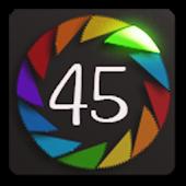 Gear Fit Rainbow Block Clock