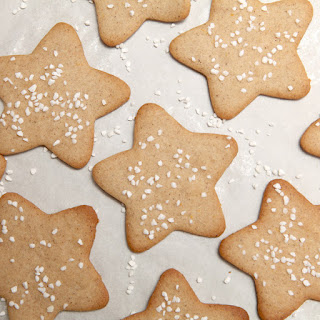 Pepparkakor (Swedish Ginger Cookies).