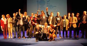 Galardonados en la tercera Gala del Audiovisual Almeriense.