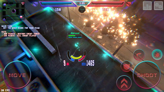 Hassle - mobile online shooter Screenshot