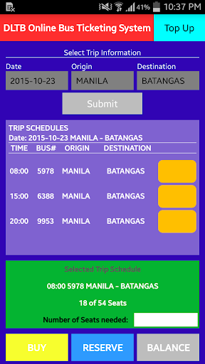 DLTB Online Bus Ticketing