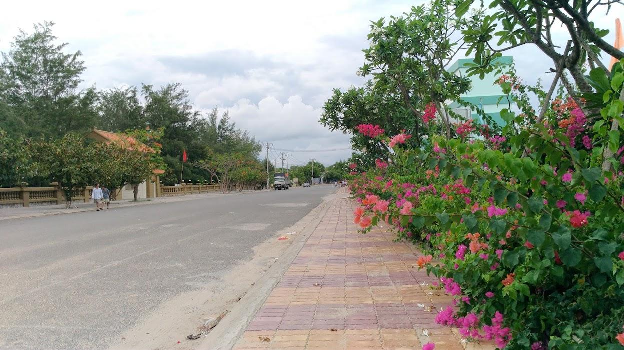 Đường đi bộ quanh khu Long Cung - Vũng Tàu