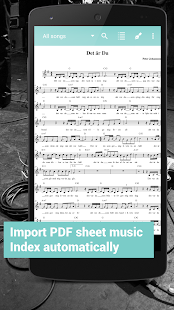 Fakebook Pro - RealBook and PDF Sheet Music Reader – Vignette de la capture d'écran