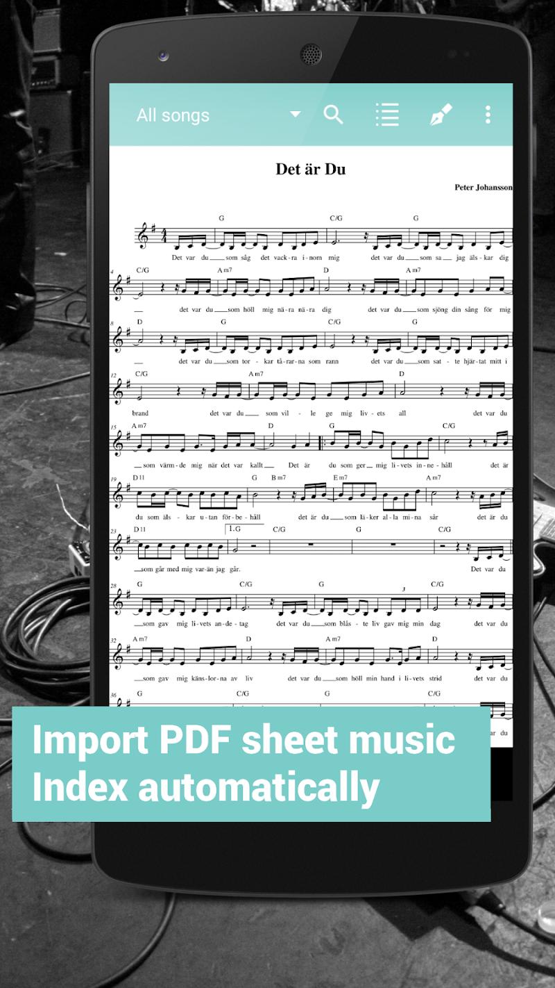 Fakebook Pro: Real Book and PDF Sheet Music Reader Screenshot 1