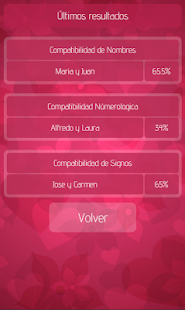 Compatibilidad de Parejas- screenshot thumbnail
