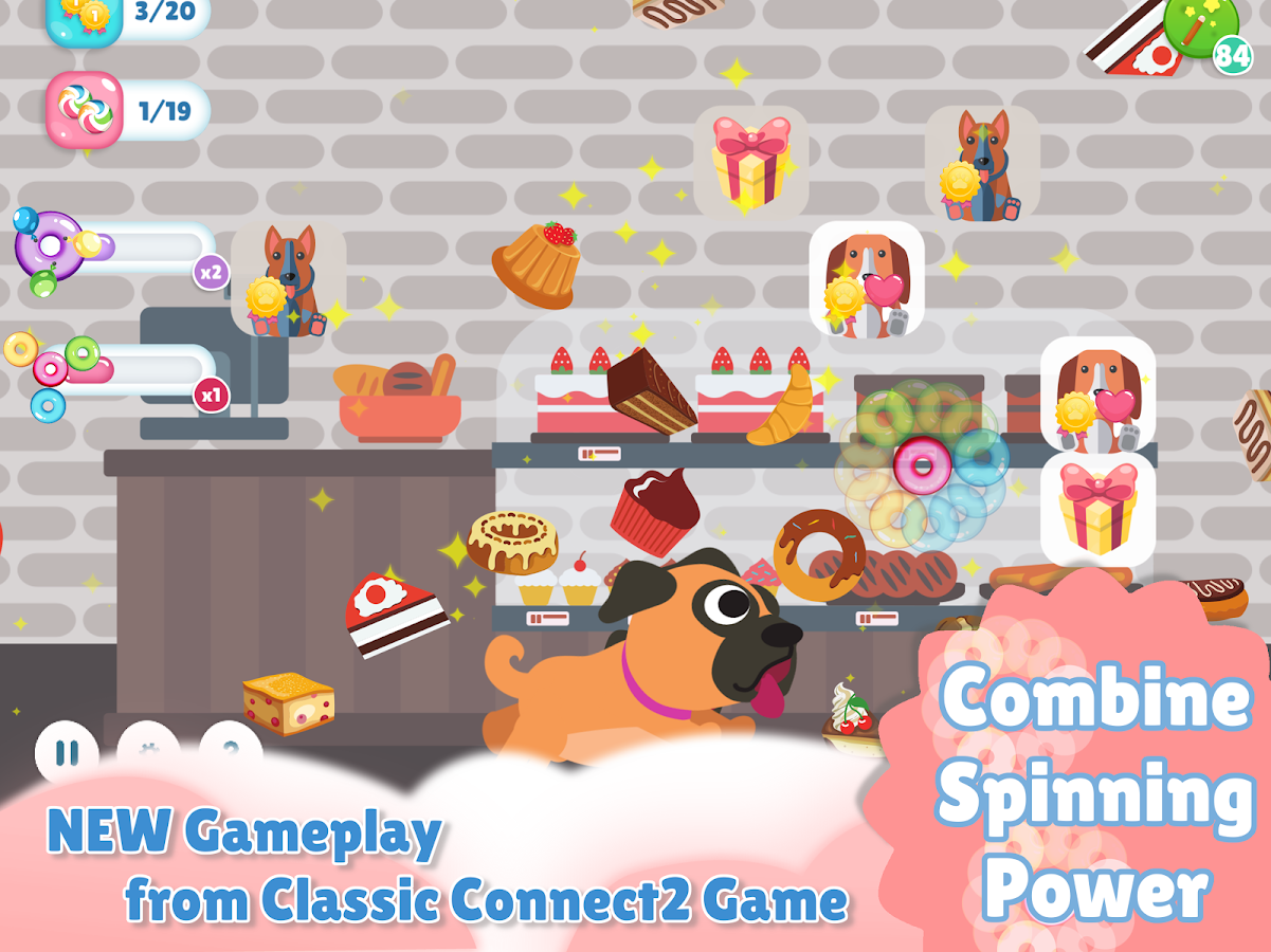 Where's My Dog - Connect 2 Pets & Bubble Spinners- screenshot