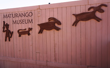 Photo: Saturday started with a visit to Maturango Museum (www.maturango.org) in Ridgecrest (formerly Crumville), CA