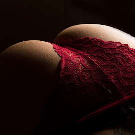Dark Red by Gary Bradshaw - Nudes & Boudoir Boudoir