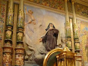 Photo: Capilla del obispado: Santa Teresa de Jesús