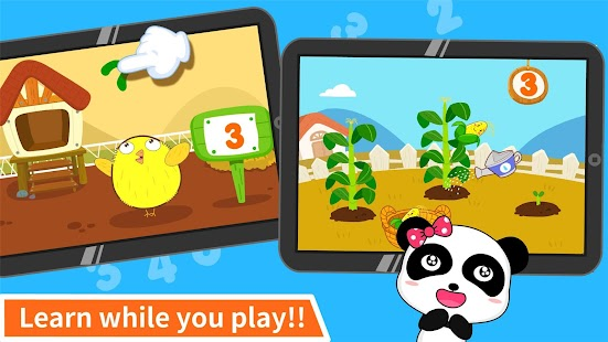 Baby Panda Learns Numbers- screenshot thumbnail