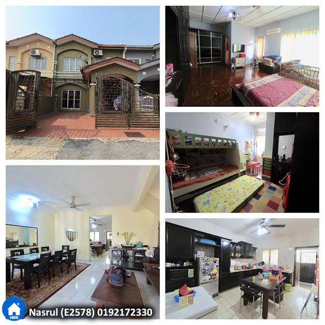 [RENOVATED] Rumah Teres 2 Tingkat Taman Mutiara Subang, Shah Alam
