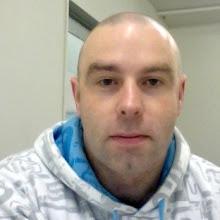 Photo: At work, white hoodie