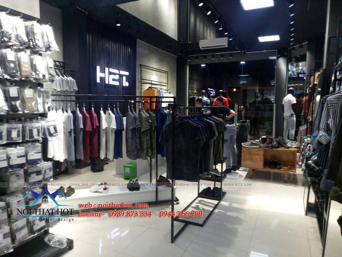 thiết kế shop thời trang nam H2T 23